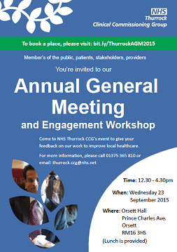PR43 AGM and Engagement Workshop 2015
